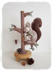 Mr. Nibbles de eekhoorn - Complete set incl. aanvullende patronen